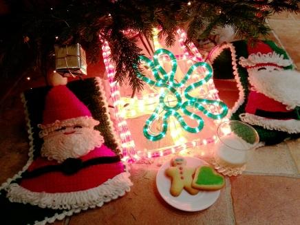 Traditional Milk & Cookies for Santa
