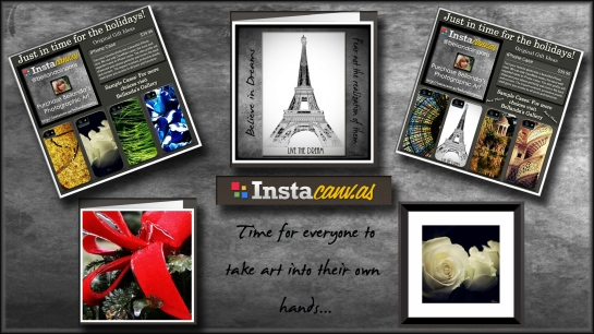 Feature photo Instacanvas for blog