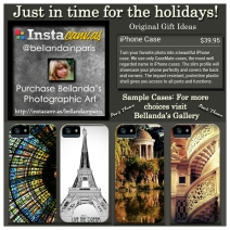 Holiday Publicity iPhone Cases Paris Theme