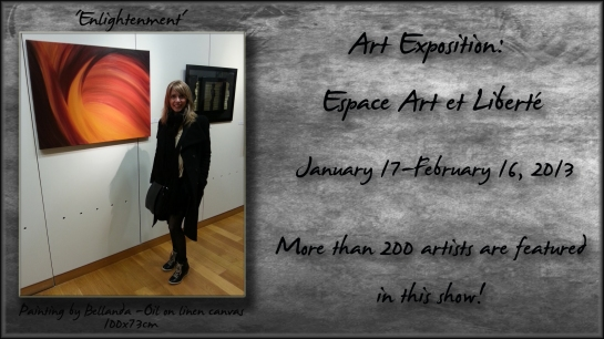 Feature Photo for Art Expo jan feb 2013