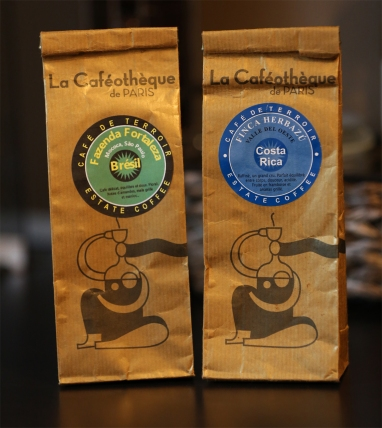 Freshly Ground Coffee from La Caféothèque Bellanda ®
