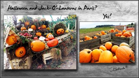 Halloween and Jack-O'-Lanterns in Paris? Bellanda ®