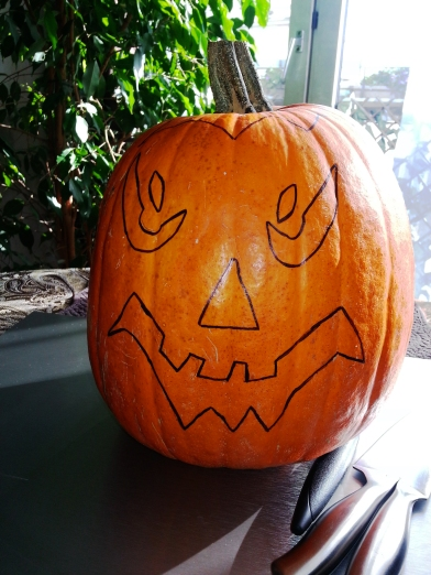 Meet Jack... soon to be Jack-O'-Lantern! Photos: Bellanda ®