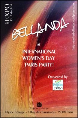 Bellanda at International Women's DayParty
