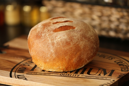 One of our many attempts at making bread. BELLANDA ®