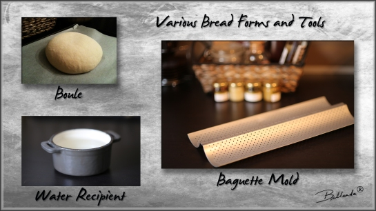 Various Bread Forms and  Bellanda ®