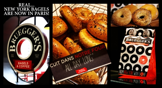 BRUEGGER'S New York Style Bagels at the foot of the Montparnasse Tower! 11 rue de l'Arrivée 75015 – Paris, France – Photo: Bellanda ®