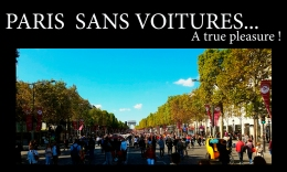 Paris Sans Voitures… a true pleasure!