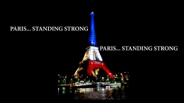 Paris… Standing Strong