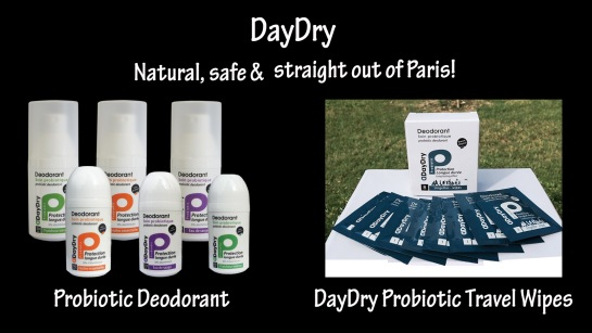 DayDry Probiotic Deodorant & Wipes