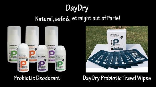 DayDry Probiotic Deodorant & Wipes